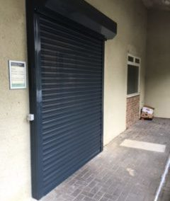 Perforated Roller Shutters, Auction House