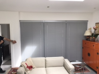 Brook House Electric Venetian Blinds